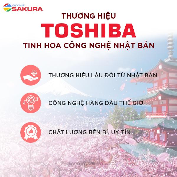Máy lọc nước Toshiba - Tinh hoa công nghệ Nhật Bản